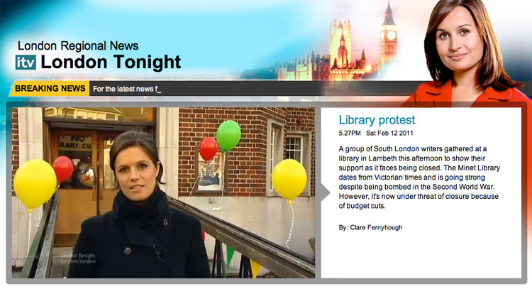 link to ITV London Tonight